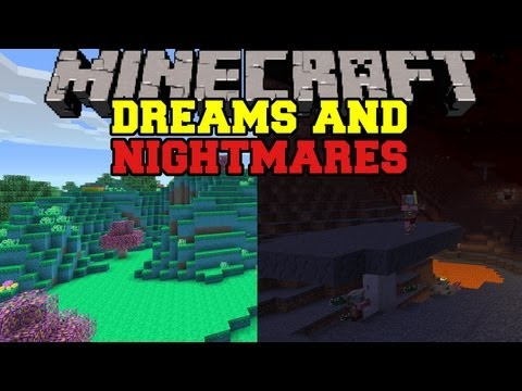 , title : 'Minecraft: DREAMS AND NIGHTMARES DIMENSIONS (2 new Dimensions!) Good Nights Sleep Mod Showcase'