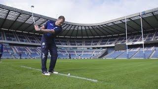 Watch as Scottish Rugby star Stuart Hogg and European Tour golfer Richie