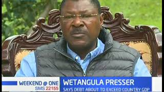 Moses Wetabgula has called for the EACC to probe graft in Bungoma