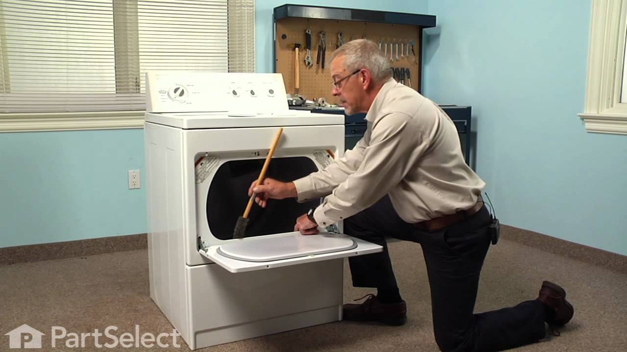 Replacing your Kenmore Dryer Lint Filter