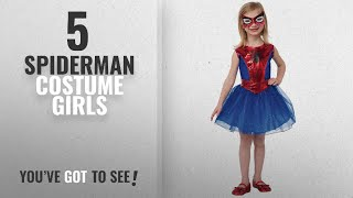 Top 10 Spiderman Costume Girls [2018]: Rubie's Marvel Universe Classic Collection Spider-Girl
