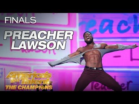 Preacher Lawson: Funny Comedian Describes Men Vs. Women - America's Got Talent: The Champions (видео)