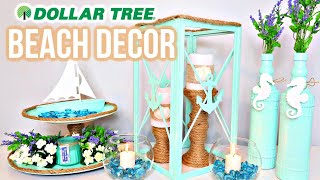 DOLLAR TREE BEACH DIYS | COASTAL THEME