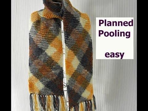 Planned Color Pooling Einfach Stricken mit PLAN von Woolly Hugs