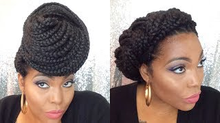 8 Unique Ways To Style Box Braids| Supa Natural