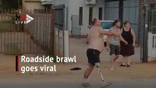 A Stick, A Prosthetic Leg And A Brawl: Fight Video Goes Viral
