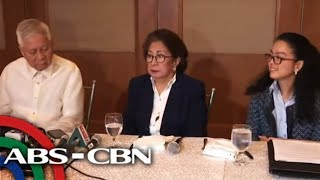 [ABS-CBN]  Ex-PH officials brief press after bringing China's Xi to ICC for crimes vs humanity | 22 March 2019