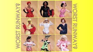 Let's talk about the worst Drag Race runway