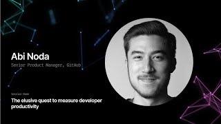 The elusive quest to measure developer productivity - GitHub Universe 2019