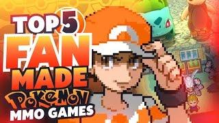 Top 5 BEST Pokemon Fan Games 2017 (Pokemon MMOs)