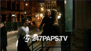 Taylor Swift with Friends Arriving to her TriBeca Apartment for her Birthday in NYC
