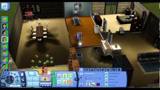 sims 3 hunger games day1 layof the land
