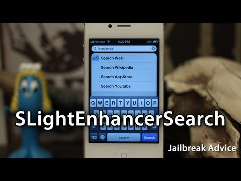Add Search For Cydia And Social Networks To Spotlight On iOS