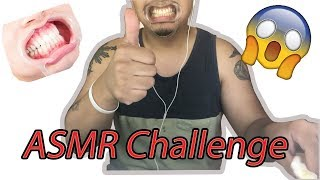 ASMR Eating Challenge, CAN YOU DO IT?