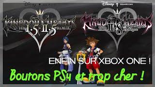 🔥 Prix élevé et boutons PS4 pour Kingdom Hearts 1.5 + 2.5 & 2.8 sur Xbox One !