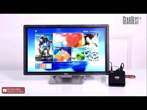 ★【Black Friday】SCISHION V88 Piano TV Box - Gearbest.com