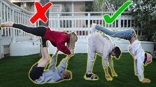 Yoga Challenge W Cody And Zoe Laverne | Sebastian Moy