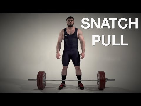 Barbell Snatch High Pull