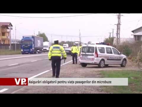 Asigurări obligatorii pentru viața pasagerilor din microbuze