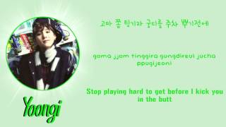 BTS (방탄소년단) - Where Did You Come From 어디에서 왔는지 [Lyrics Han|Rom|Eng]
