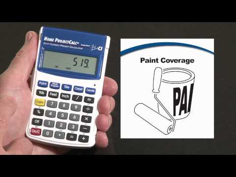 Home ProjectCalc - Paint Coverage