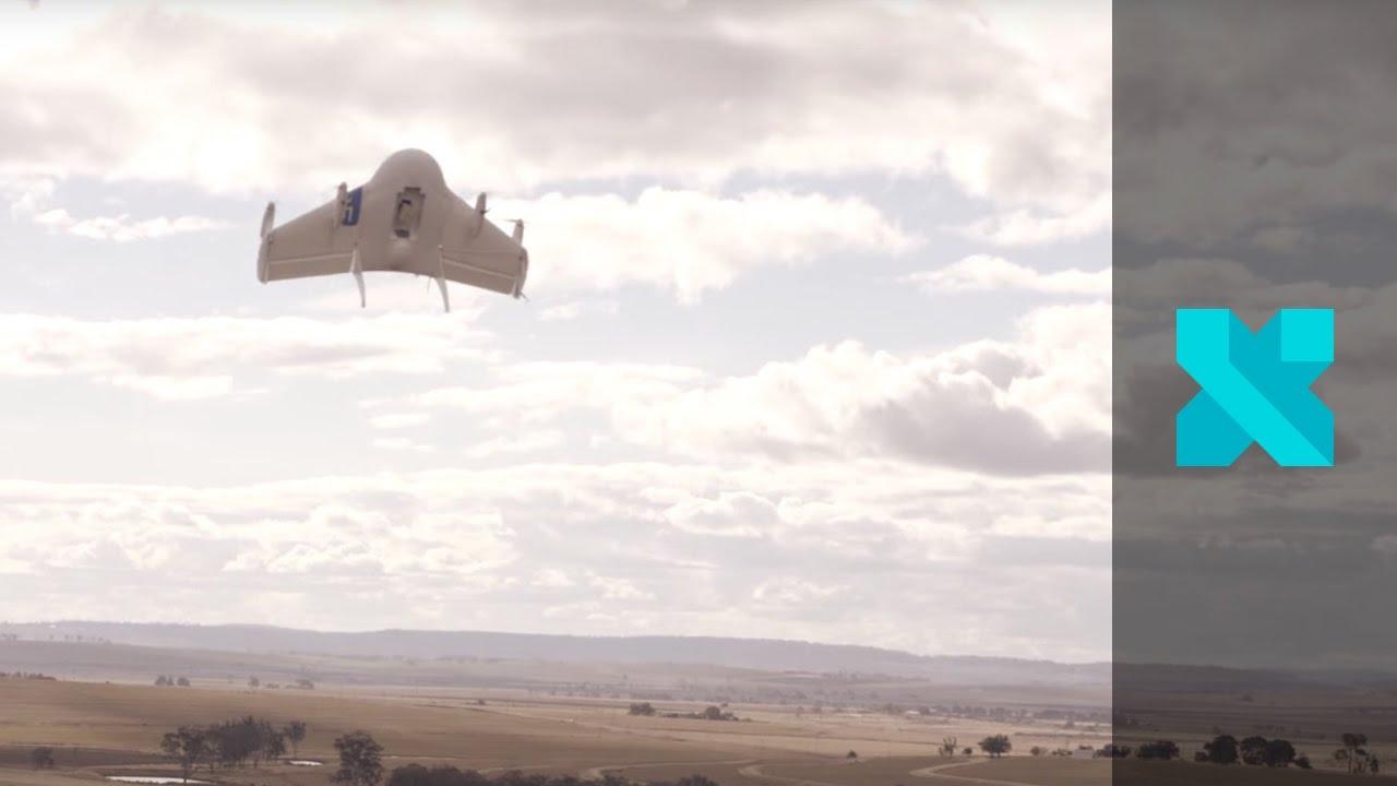 Watch Google Test Its Top Secret Drone Project In Queensland