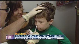 New warning about nasal flu vaccines