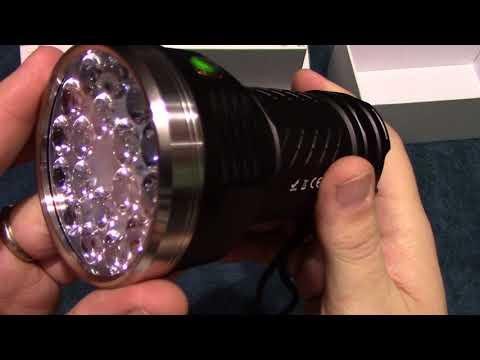 AstroLux MF01 Flashlight Review!