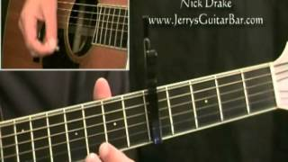 How To Play Nick Drake - Place To Be (intro only)