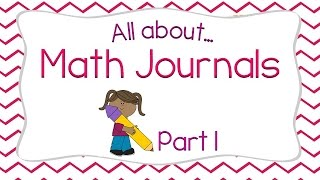 Making The Most Of Math Journals