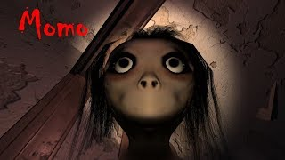 Momo Full Playthrough Gameplay (indie horror game)