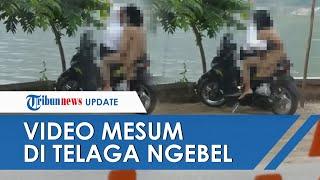 Viral Video Sejoli Mesum di Pinggir Telaga Ngebel Ponorogo di Atas Motor Honda Beat yang Terparkir