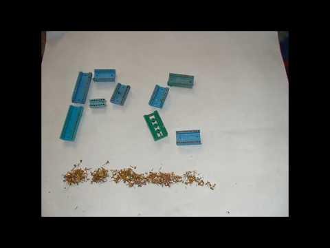 панельки  РС  сколько в них на самом деле золота  и пробуем получить  золотой песком !