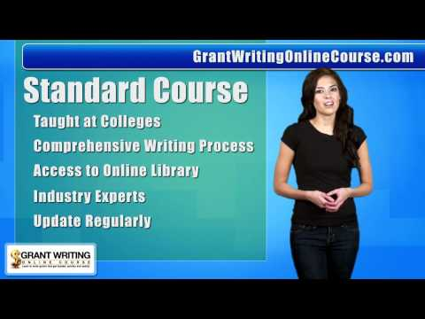 Grant Writing Online Course   Grant Writing Classes ... - YouTube
