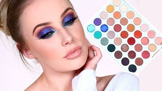 THE JACLYN HILL x MORPHE Palette Review Tutorial