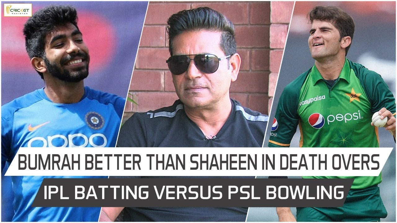aaqib javed compares jasprit bumrah with shaheen afridi