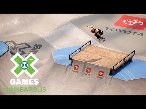 Brighton Zeuner wins Women's Skateboard Park gold | X Games Minneapolis 2018