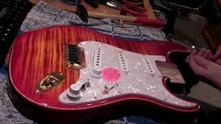 Beautiful Custom Warmoth Hardtail Stratocaster 2014 Fender