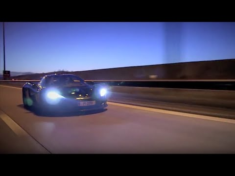 McLaren P1 Driveback | Top Gear Magazine