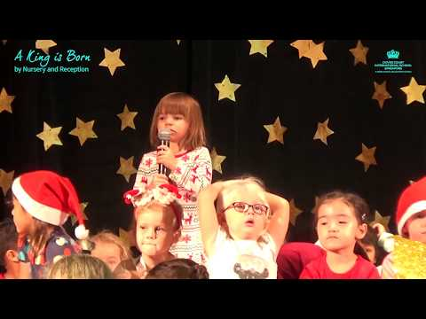 A King is Born, A Nativity by Nursery and Reception