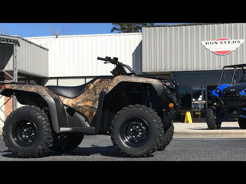 2021 Honda FourTrax Rancher 4x4 ES in Greenville, North Carolina - Video 1