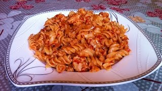 Макароны по-флотски / Pasta With Meat / Очень Простой Рецепт (Вкусно и Быстро)
