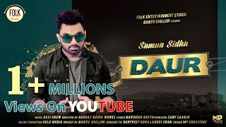 Best wishes to Sumna Sidhu for song Daur
