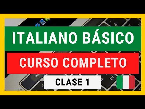 CURSO COMPLETO DE ITALIANO BASICO para principiantes #clase1 APRENDE INGLES GRATIS @English Care
