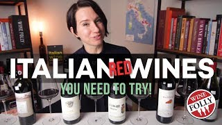 5 Italian Red Wines You Must Try!