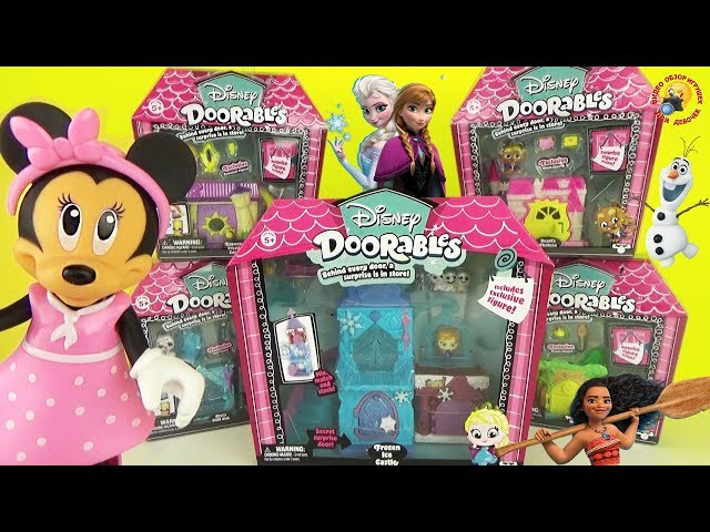 Игровой набор DISNEY DOORABLES -МОАНА