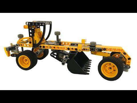 Vidéo LEGO Technic 8271 : Le bulldozer