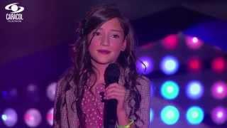Nina cantó 'Brindis' de Afo Verde - LVK Colombia- Audiciones a ciegas - T1