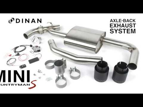Dinan F60 Countryman S Axle-Back Exhaust - Sound Clip