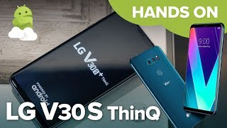 LG V30S ThinQ hands-on!